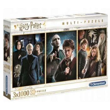 Clementoni – Puzzle 3x1000el. – Harry Potter 61884