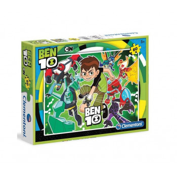 Clementoni - Puzzle Ben 10 60 el. - 08432