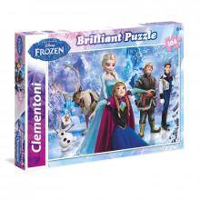 Clementoni - Puzzle Kraina Lodu 104 el. - 20127