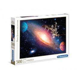 Clementoni - Puzzle Międzynarodowa Stacja Kosmiczna 500 elementów - 35075