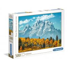 Clementoni - Puzzle Grand Teton jesienią 500 elementów - 35034