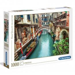 Clementoni - Puzzle 1000el. - Wenecki Kanał - 39458