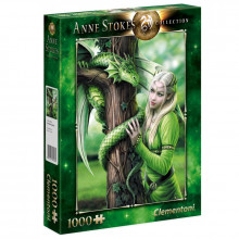 Clementoni - Puzzle Anne Stokes Collection - Kindred Spirits 1000 el. - 39463