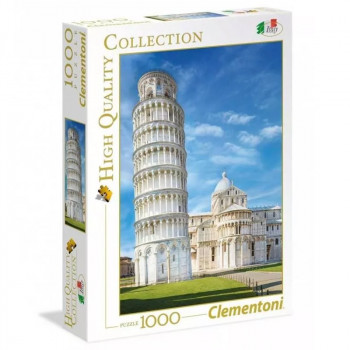 Clementoni - Puzzle 1000el. - Pisa - 39455