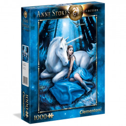 Clementoni - Puzzle Anne Stokes Collection - Blue Moon 1000 el. - 39462