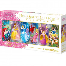 Clementoni - Puzzle 1000 el. Panorama Księżniczki  Disney'a - 39444