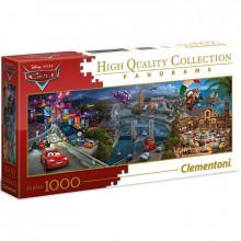 Clementoni - Puzzle 1000 el. Panorama Cars - 39446