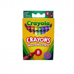 Crayola - Kredki Świecowe 8 kolorów - 0087