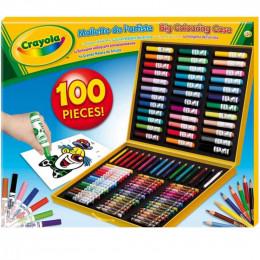 Crayola - Duża Walizka Artysty 100 elementów - 10651