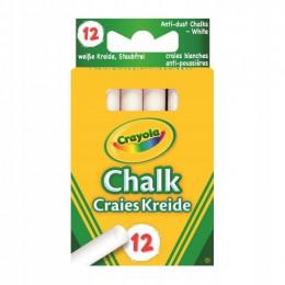 Crayola - Kreda Biała Niepyląca - 2807