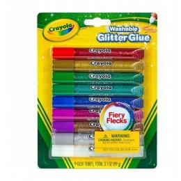 Crayola – Zmywalny klej brokatowy – 9 kolorów – 35273