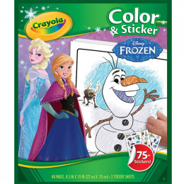 Crayola - Kolorowanka Frozen - Kraina Lodu - 4584