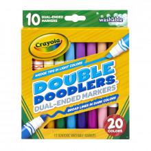 Crayola - Markery Dwustronne 20 kolorów - 8311