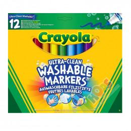 Crayola - Markery Super Spieralne 12 kolorów - 8329