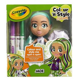 Crayola – Lalka do malowania Jade 9379