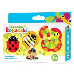 CzuCzu 336368 Puzzle - Układam robaczki