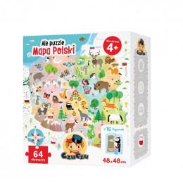 CzuCzu 490111 - Ale Puzzle - Mapa Polski