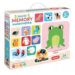 CzuCzu – Duuuże memory – Zwierzęta – 490913
