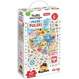 CzuCzu – Puzzle obserwacyjne – mapa Polski – 490968