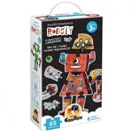 Czuczu – Puzzle kreatywne roboty – 491293