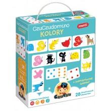 CzuCzu – Domino kolory – dwustronne domino ze zwierzątkami – 491606