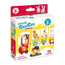 CzuCzu - Puzzle CzuCzu: Cyferki - 6163245
