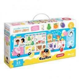 CzuCzu - 6500957 - Puzzle z dziurką: Lody! Lody!