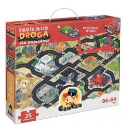 CzuCzu 6997518 Duuuże puzzle – Droga dla pojazdów