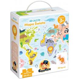 CzuCzu 490197 Ale puzzle - Mapa Świata