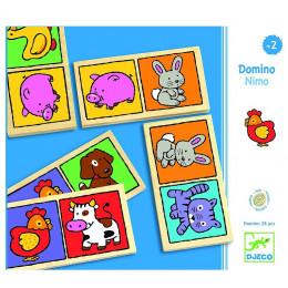 DJECO – Drewniane domino NIMO 01638