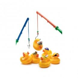 DJECO 02004 Gra zręcznościowa - Łowienie gumowych kaczuszek