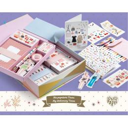 DJECO - Zestaw papierniczy Tinou w kuferku - 03501