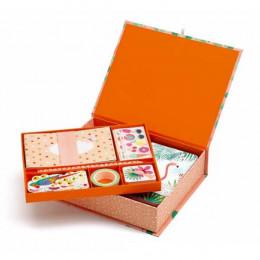 DJECO - Kuferek Marie z zestawem papierniczym - 03503