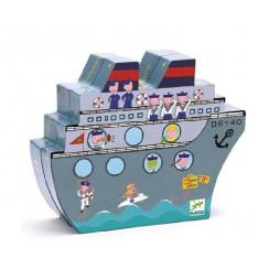 DJECO - Magnetyczna gra planszowa w statki – 05270