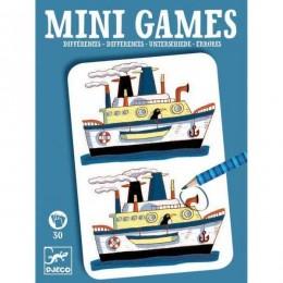 DJECO 05306 Mini gra - Znajdź różnice: REMI - niebieskie