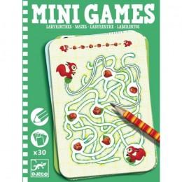 DJECO 05324 Mini gry - Labirynty
