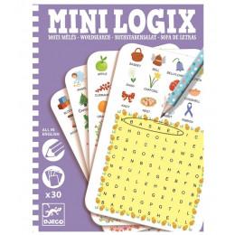 DJECO Mini Logix - Szukanie słówek - 05351