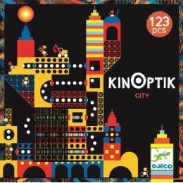 DJECO 05610 Układanka magnetyczna Kinoptik - Miasto