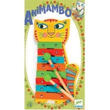 DJECO 06002 Instrument Cymbałki - Kotek Animambo