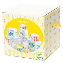 DJECO – Układanka z kostek – Piramida Baby Bloki 06103