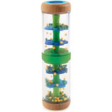 DJECO - Drewniany shaker z kulkami - zielony 06381