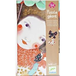 DJECO 07127 Puzzle Gigant - Księżniczka