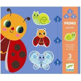DJECO 07141 Pierwsze Puzzle - Ogród