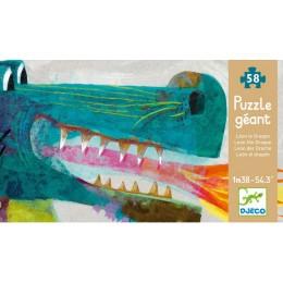 DJECO 07170 Puzzle Gigant - Smok Leon