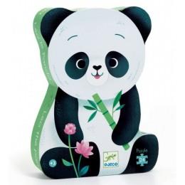 Djeco – Puzzle w pudełku – Panda Leo 24el. – 07282