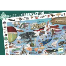 DJECO - Puzzle obserwacyjne 200 el. - Aero Klub 07451