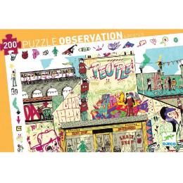DJECO - Puzzle obserwacyjne - Streetart 07453