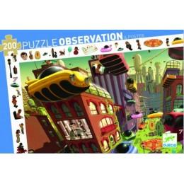DJECO 07459 Puzzle Obserwacja - Miasto przyszłości