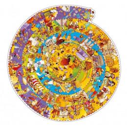 DJECO - Puzzle obserwacyjne - Historia świata 07470