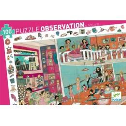 DJECO 07510 Puzzle Obserwacja - Lekcja Tańca